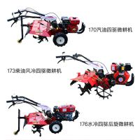 果园使用的旋耕松土机 农用汽油多功能微耕机