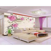 小树鹿8d无缝大型壁纸墙布客厅风景客厅沙发玄关背景壁画背景墙
