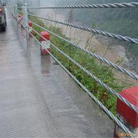 景区河道缆索防撞护栏生产厂家@绳索护栏安装