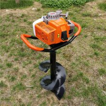 志成手提式植树挖坑机电线杆打洞机挖树坑的机子