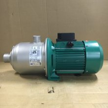WILO威乐水泵MHI805软化水设备不锈钢卧式一用一备变频恒压供水泵
