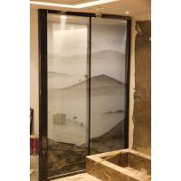 郑州誉华召创3D打印山水画玻璃,夹丝玻璃,可来图定制