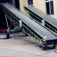 装车输送机 散料用挡边皮带输送机KL
