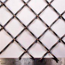 白钢轧花网规格 湖南白钢轧花网 不锈钢矿筛网
