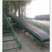 装卸用皮带输送机 升降装卸输送机厂家