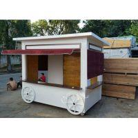 供应售卖亭 移动售卖车 零售花车 食品售货车 冰淇淋车 景区 移动户外售卖车