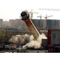 专业烟囱整体放倒 锅炉烟囱整体拆除【推荐】