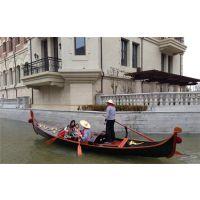 湖南湖北哪里有欧式手划船 意大利威尼斯贡多拉船 豪华水上观光旅游船出售