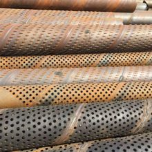 钢花管、打井铁管厂家、灌溉井用高强度滤水管273mm
