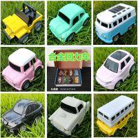 合金回力车Q版迷你仿真汽车模型套装儿童男孩玩具厂家直销