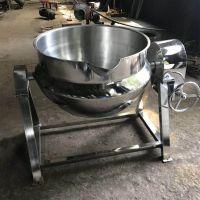 多动能鸭腿鸭头夹层锅 不锈钢鸡腿恒温卤煮锅 电加热夹层锅
