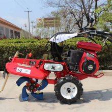 大葱种植手扶式开沟培土机 大马力葡萄园埋藤机 大棚草坪培土机