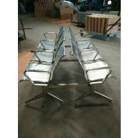 201/304全不锈钢排椅/三角横梁不锈钢排椅