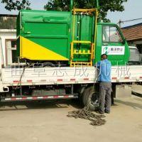 勾臂式的电动环卫车 载重800公斤三轮垃圾车 新能源电动垃圾车