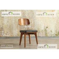 上海西餐厅实木桌子订制 现代实木西餐桌定做工厂 上海韩尔家具厂