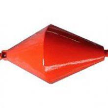 厂家定制铁锚救援浮标 红色潜水象拔锚浮标