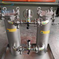 供应不锈钢双联过滤器 固液分离 铝合金切削液过滤