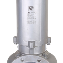 不锈钢潜水排污泵150WQP145-9-7.5大流量大口径耐腐污水排水泵
