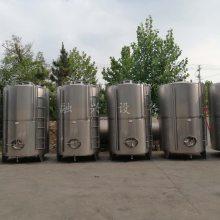 40立方不绣钢储酒罐 长期出售不锈钢储水罐 不锈钢储酒罐 15吨贮罐