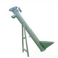 型号全螺旋输送机 兴亚垂直螺旋提升机 碳钢材质玉米提升机