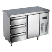 厂家直销 不锈钢冷柜工作台,冷藏冷冻工作台 保鲜沙拉台