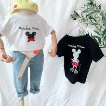 便宜儿童短袖T恤韩版卡通纯棉童装T恤3-8岁男女童短袖清货5元以下