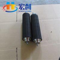 厂家直销包胶无动力|包聚氨酯无动力滚筒|输送线包胶滚筒