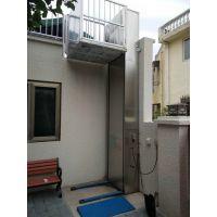 绵阳厂家定制无障碍升降电梯 家用残疾人电动升降台 观光电梯