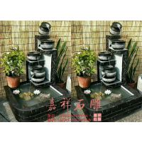 家庭流水摆件石雕图片 庭院加湿石雕工艺品价格
