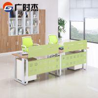 广州办公家具2人位组合职员办公桌简约现代4/6人位职员屏风