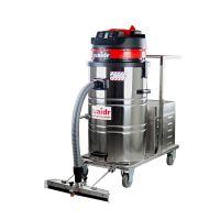 工业用电瓶移动式吸尘器 上海威德尔WD-80P 前置推吸扒头