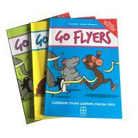 2018全新升级YLE剑桥等级考试教材 Go Starters/Movers/Flyers