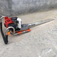 挖树苗断根机 合金链条挖树机价格 带土球链条式挖树机