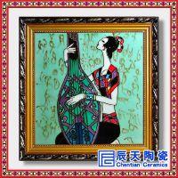 现代简约抽象客厅装饰画欧式餐厅挂画巴洛克风格画玄关轻奢瓷画