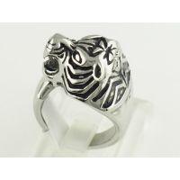 不锈钢戒指 倒模仿古老虎头霸气个性化饰品 钛钢戒子首饰东莞首饰工厂哪里找