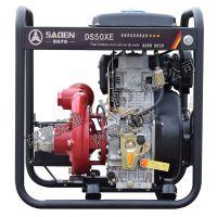 3寸柴油自吸水泵大叶轮萨登DS80XA(E)铸铁高压泵