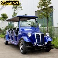 卓越電動車廠生產的八座豪華款電動老爺車G1L08B,靚麗外觀,結實底盤,東莞卓越制造!