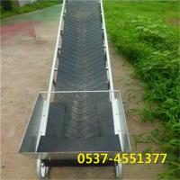 兴亚定做货车装车机 移动式升降输送设备 装车皮带输送机