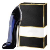 厂家供应新款高跟鞋玻璃香水瓶80ml