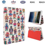 东莞华为8寸平板保护壳 带支架翻盖式卡通系列电脑配件皮套OEM工厂批发