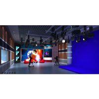 虚拟演播室真4K真三维虚拟演播室UE4定制化仿真场景