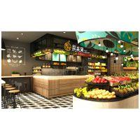 精品水果店工装设计|水果店工装设计|水果店工装设计案例