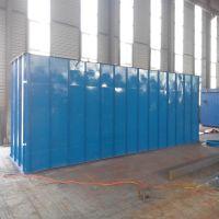 新日环保供应机械回转反吹扁袋除尘器、反吹风布袋除尘器