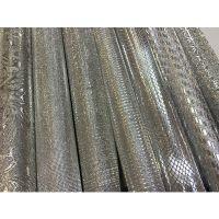 台湾进口仙度瑞拉满天星PVC革 反光材料 平纹 92cm