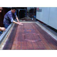 防盗门木纹转印机 LEAD双工位双面加热转印机