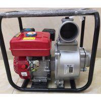 厂家直销4寸自吸农业灌溉高扬程机柴油机汽油水泵