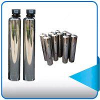 家庭别墅专用软化水设备玻璃钢罐 砂炭过滤罐 树脂软化罐料罐 广旗厂家直销