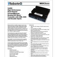 AGV小车电机控制器 美国RoboteQ品牌 支持单双通道 多功能直流有刷