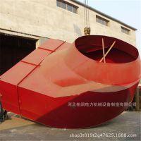 柏润加工定制 风机进口 风箱 75 °、60 ° 倾斜度 价格低