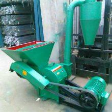 自动进料锤片式饲料破碎机 玉米秸秆饲料粉碎机 420型大产量粉碎机价格